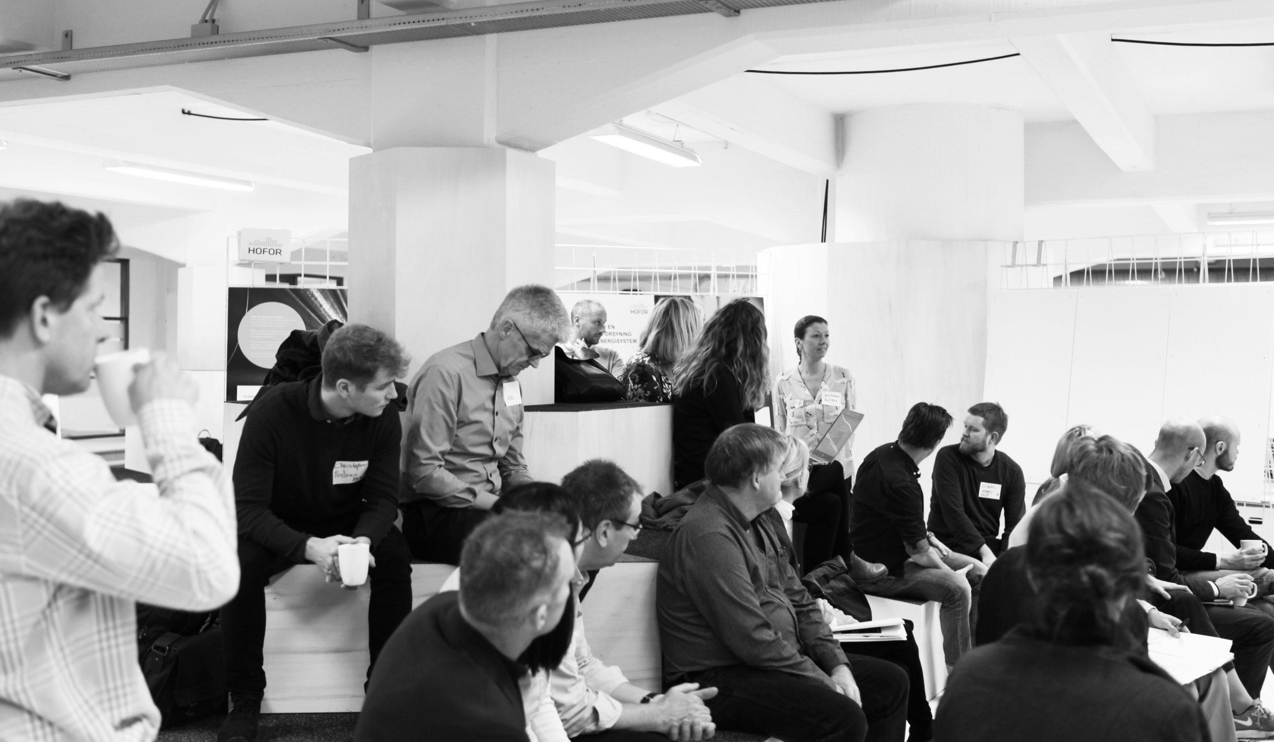 Workshop innovation space design co-creation